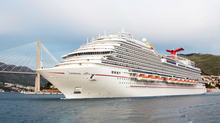 Carnival Vista Named World S Best Cruise Ship By Cruise